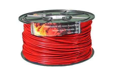 400m RPEMD4RR PEMD 4mm Round Red